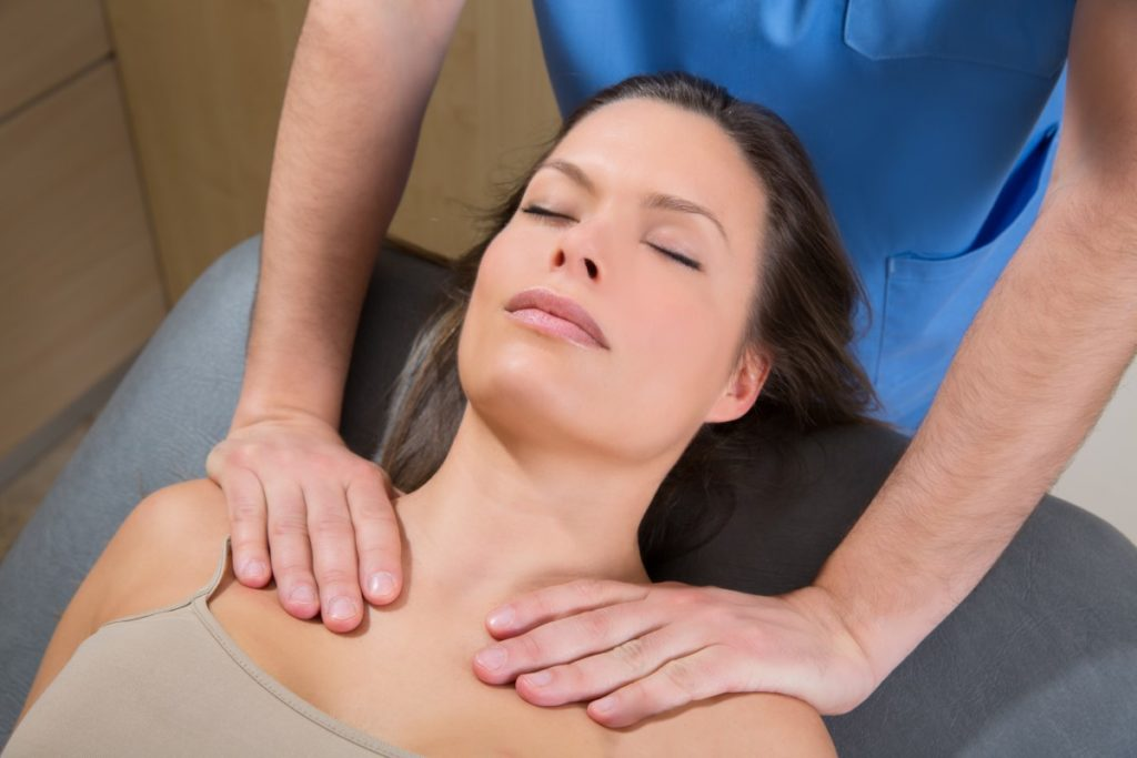 Physical Therapy in Newport Beach at Focus On Health with patient