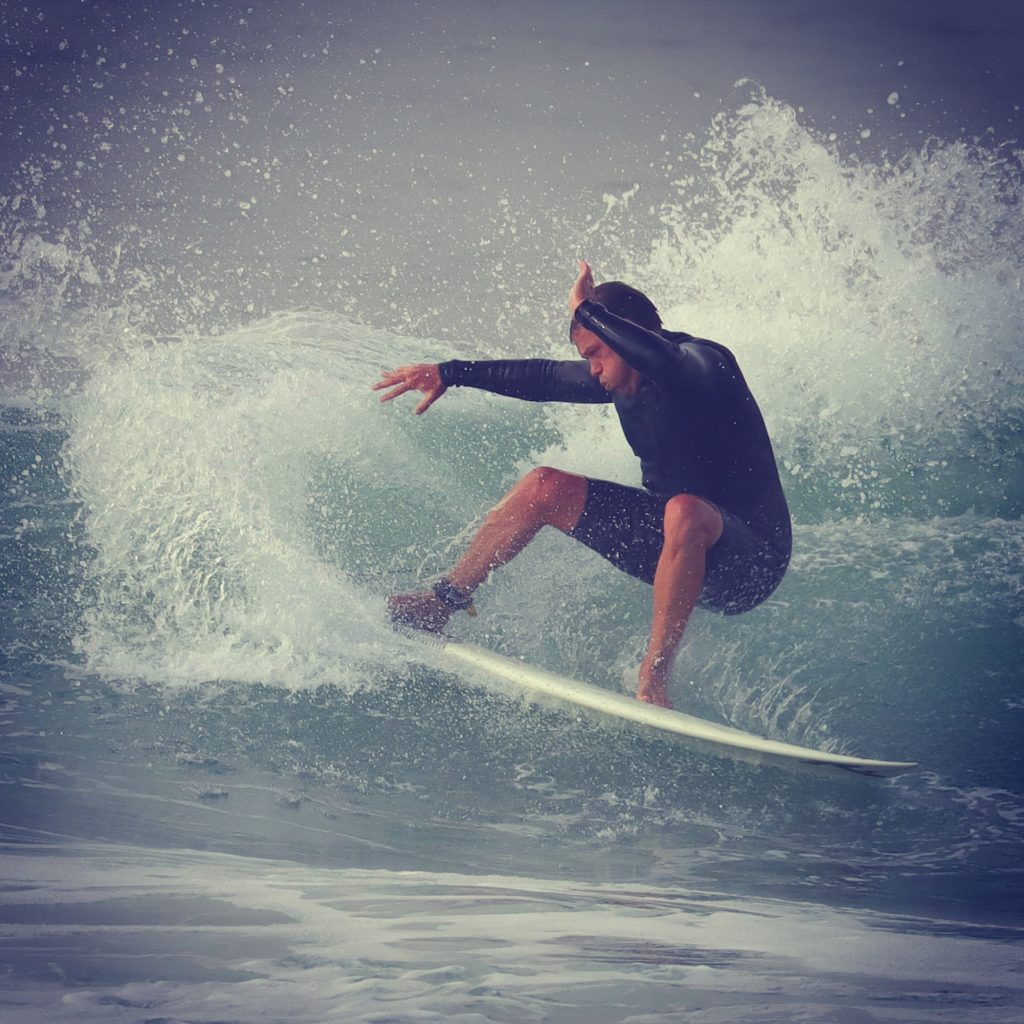 Focus On Health Patient Surfing in San Clemente after Successful Treatment